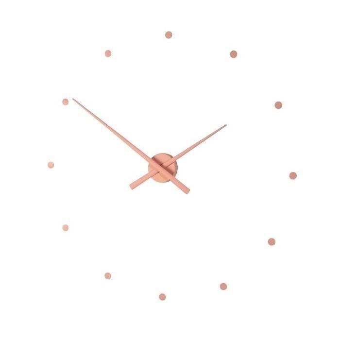 Designové nástěnné hodiny NOMON OJ starorůžové 80cm