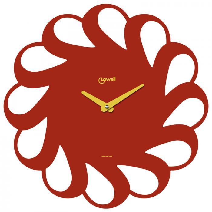 Designové nástěnné hodiny Lowell 05838R Design 40cm